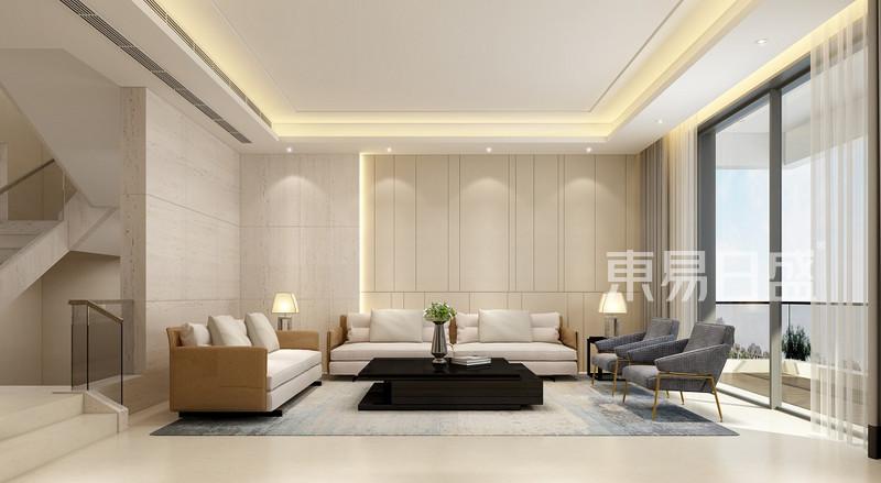 简单大方的房屋客厅装修效果图