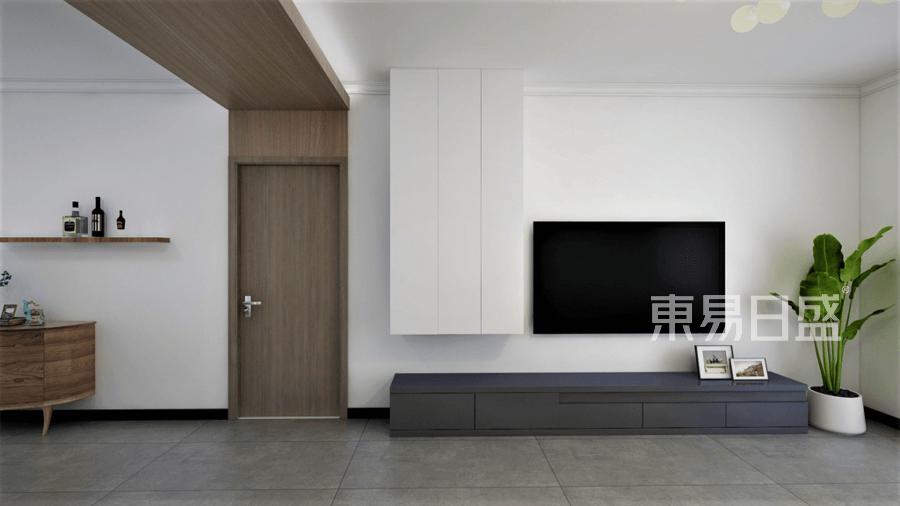 三居室-現代簡約-實景圖