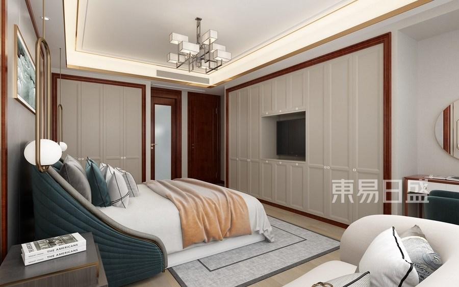 普通住宅-新中式-效果图