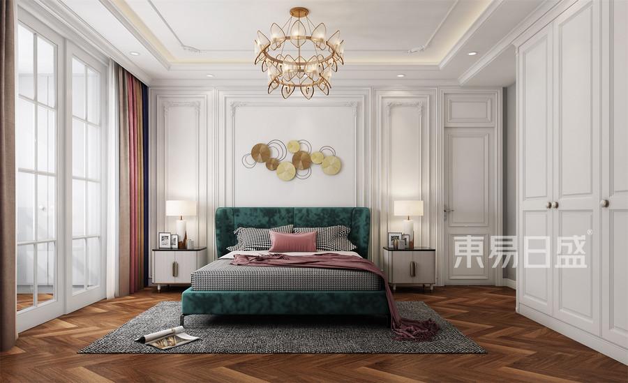 三居室-卧室装修效果图