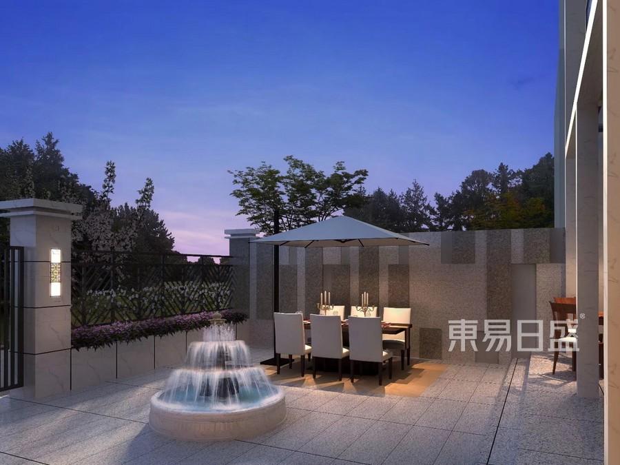 中式風格庭院裝修效果圖