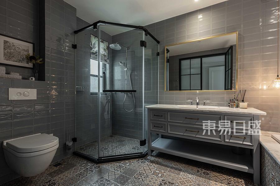 三居室-浴室-实景图