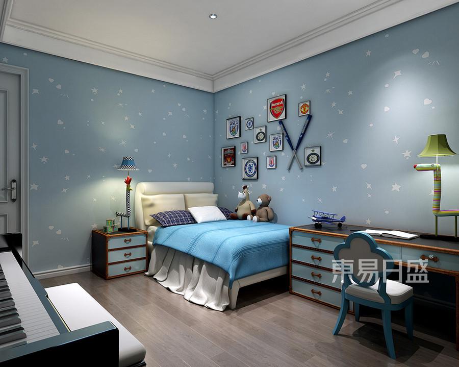 儿童房-单纯的色彩,极具表现力