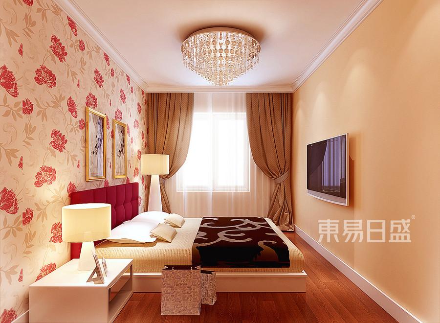 远洋山水 欧式古典 卧室