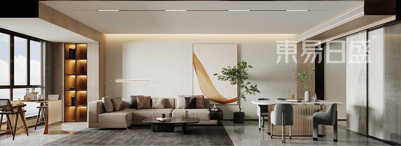天鹅堡-122平米3房2厅1厨2卫1阳台 现代简约风格户型解析